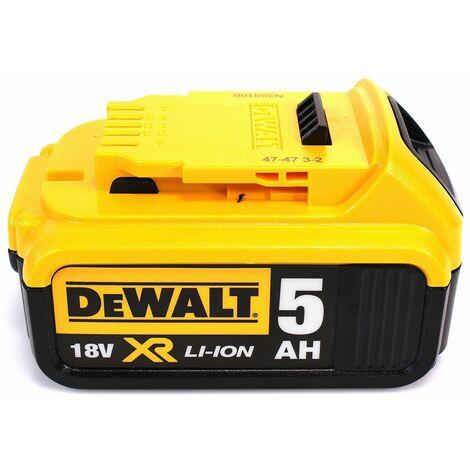 DeWalt DCW 210 NT Ponceuse excentrique sans fil et sans balais 18V 125 mm + 1x Batterie 5,0 Ah + Coffret de transport - sans chargeur