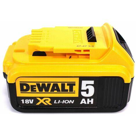 DeWalt DCW 210 P1 Ponceuse excentrique sans fil et sans balais 18V 125 mm + 1x Batterie 5,0 Ah + Chargeur + Coffret de transport