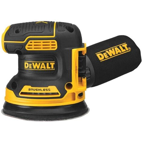 DeWalt DCW210N-XJ - 18V Xr Brushless 125mm Random Orbital Sander - Bare Unit |