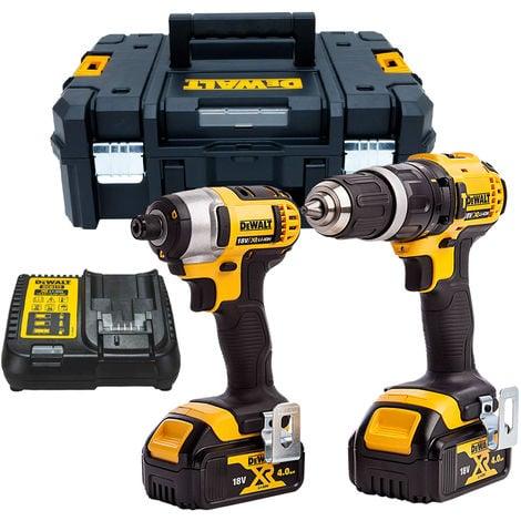 Dewalt DCZ285M2 18V Li-Ion XR Combi Drill & Impact Driver With 2 x 4.0Ah Batteries