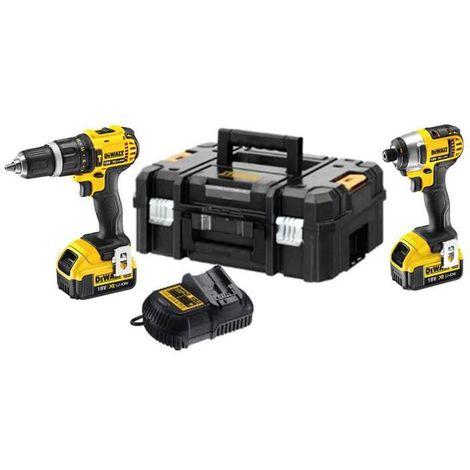 DeWALT DCZ285M2T 18V Limited Edition Twinpack 2x4.0ah Batteries
