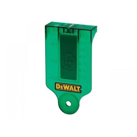 DeWalt DE0730G-XJ Green Laser Target Card