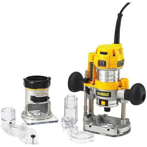 DeWalt - Défonceuse multi fonction 900 Watts 8mm - D26204K
