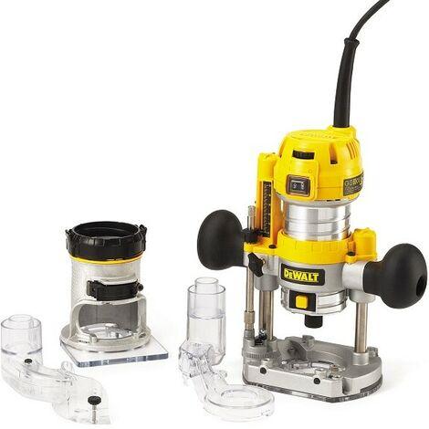 DeWalt - Défonceuse multi fonction 900 Watts 8mm - D26204K - TNT