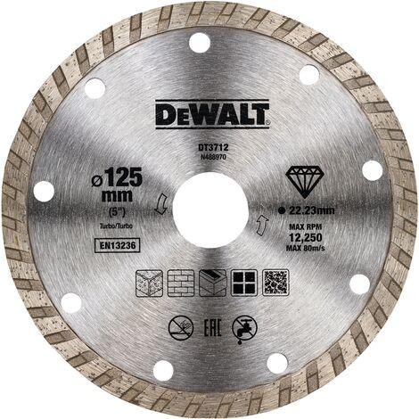 Diamanttrennscheiben-Set 125mm 3-teilig Stein universal Fliesen Beton