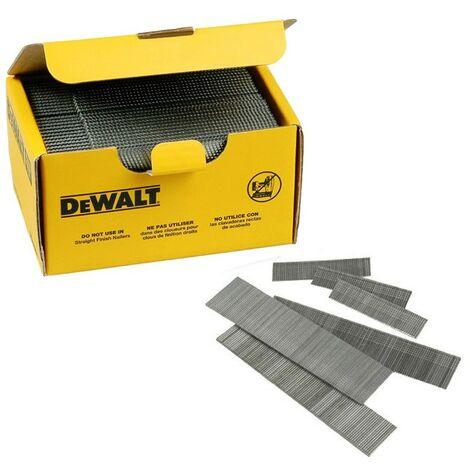 """main image of """"Dewalt DNBA1638GZ 38mm 16 Gauge Angled Nails 2nd Fix 2500 Box - DT9901 DCN660"""""""