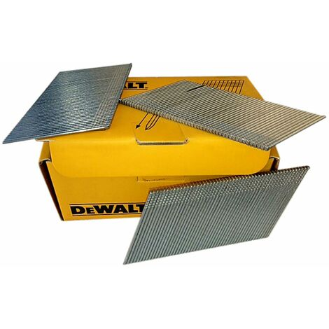 DeWalt DNBA1650GZ 16G 50mm Angled Galvanised 2nd Fix Nails 2500pk