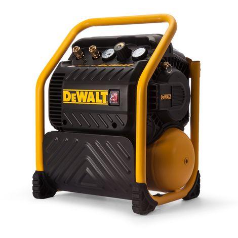 DEWALT DPC10QTC-QS compressore silenziato alta resa 10lt 1,5hp 119lt/min