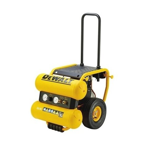 DeWALT DPC16PS Compresseur à huile mobile 1.800 Watts (2,5 CV) - 16 L - 10 Bar