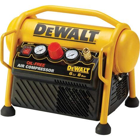 DeWalt DPC6MRC 1.5Hp Mini Roll Cage Compressor 6 Litre 1100W 240V