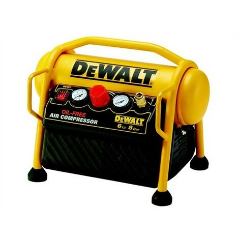 DeWalt DPC6MRC-GB Mini Roll Cage Compressor 6 Litre 1100 Watt 240 Volt