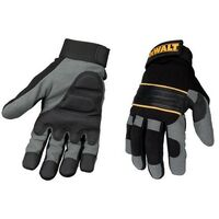 DeWalt DPG33L Power Tool Gel Gloves Black / Grey DPG33L
