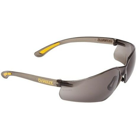 DeWalt DPG52-2D Contractor Pro ToughCoat Safety Glasses - Smoke
