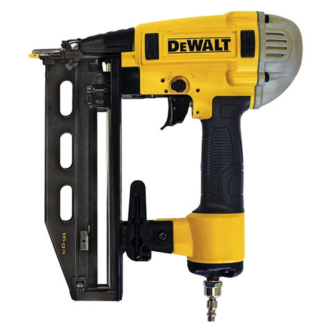 DeWalt DPN1664PP 16 Gauge 25-64mm Pneumatic Finish Nailer