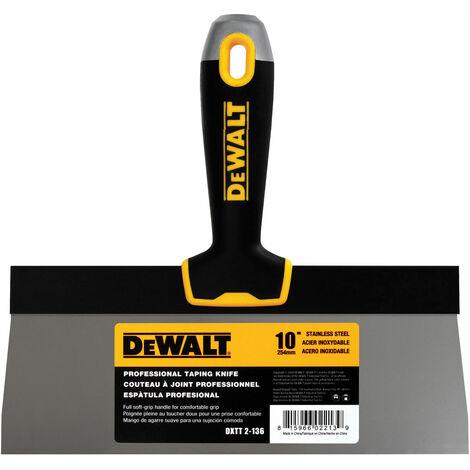 DeWALT Dry Wall EU2-136 Soft Grip Taping Knife 250mm (10in)