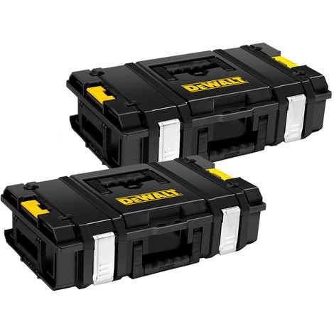 DeWalt DS150 Toughsystem Tool Storage Empty Tool Box For DCF887, DCD796 TWIN PACK