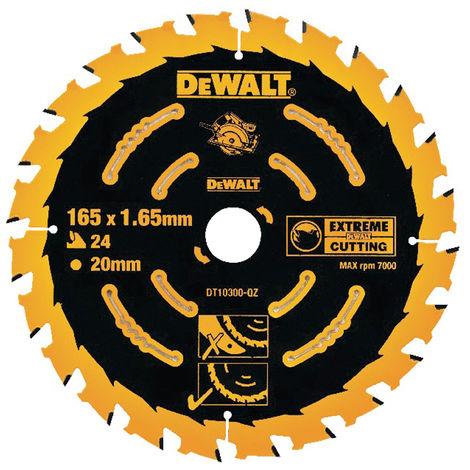 DeWalt DT10301-QZ 165 x 20mm x 40T Extreme Framing Circular Saw Blade