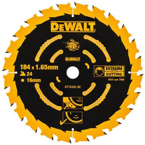 Dewalt DT10303 Circular Saw Blade 184 x 16mm x 40T Corded Extreme Framing