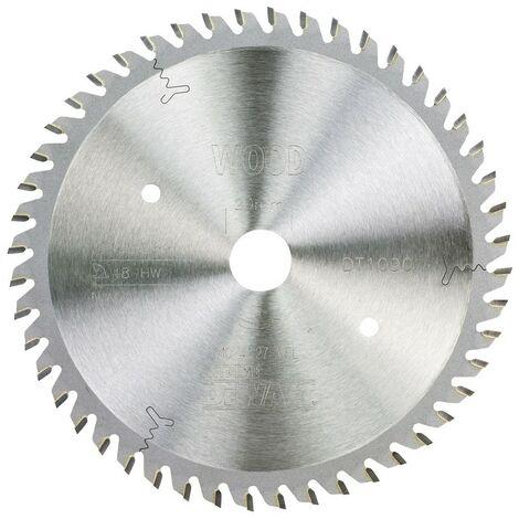 DEWALT DT1090-QZ - incisionlame de scie 165x20mm 48D ATB Bois finition fine