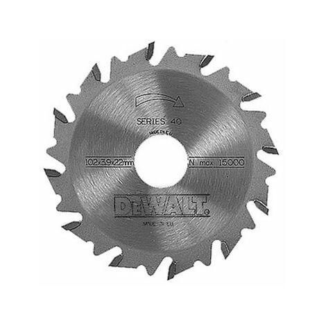 DeWalt DT1306-QZ Extreme Biscuit Jointer Blade 102mm x 22mm x 12 Tooth