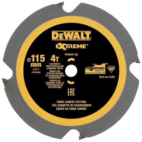 DEWALT DT1471-QZ - Multi-Material feuille de coupe (Fibro ciment) 165x20mm X4D