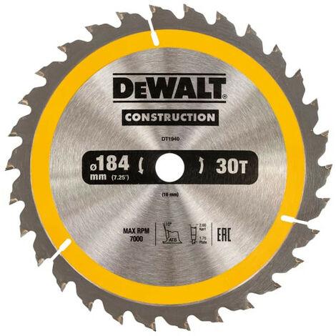"main image of ""Construction Circular Saw Blades 184mm"""