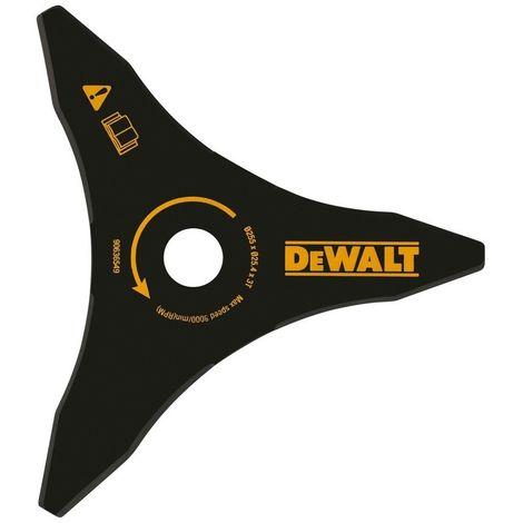 DEWALT DT20653-QZ - Cuchilla para matorrales de 250 mm para desbrozadoras DCM571. DCM581