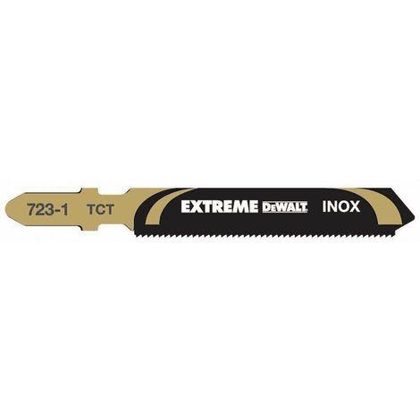 Dewalt DT2101-QZ Lame pour Scie sauteuse au Carbure de Tungstène Acier inoxydable