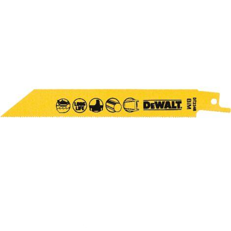 Dewalt DT2346 2X General Purpose Reciprocating Saw Blade 152mm 15 Blades