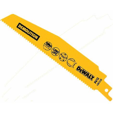 DeWalt DT2352-QZ 240MM Reciprocating Saw Blade (Pk-5)