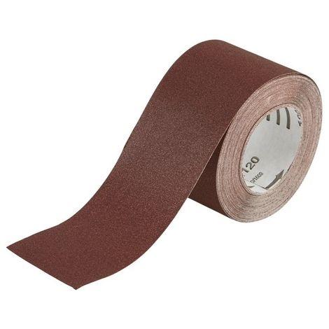 DEWALT DT3596-QZ - Rollo 1/3 de hoja 25m 93mm grano 80 para el lijado manual en seco de maderas y pinturas