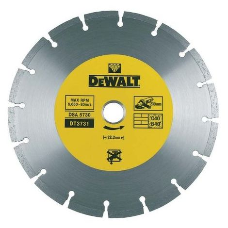 DeWalt DT3711 Diamant-Trennscheibe