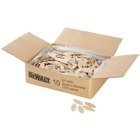 DeWALT DT3931-QZ Box of 1000 NO.10 Biscuits