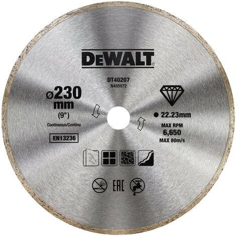 DEWALT DT40207-WZ DISCO DIAMANTE CORTE SECO 230mm