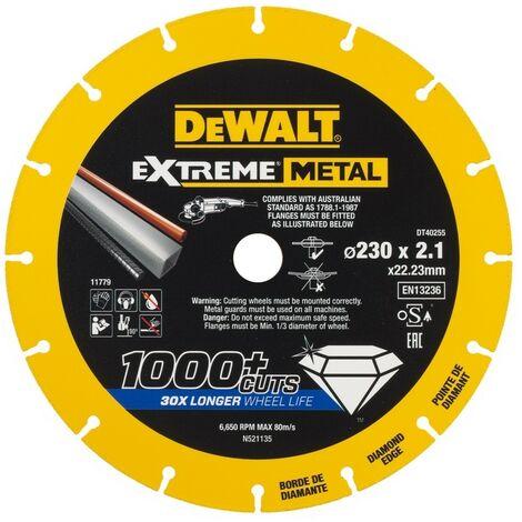 """main image of """"DEWALT DT40255-QZ - diamond bord disque de coupe Métal Extrême 230x1.5x22.3mm"""""""