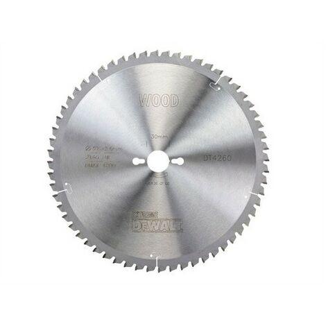 DeWalt DT4260-QZ Circular Saw Blade 305mm x 30mm x 60 Teeth Series 40 Fine Finish