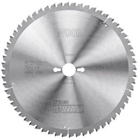 Dewalt DT4260-QZ Lame de scie circulaire stationnaire Extreme Workshop 305x30mm 60 dents 305/30