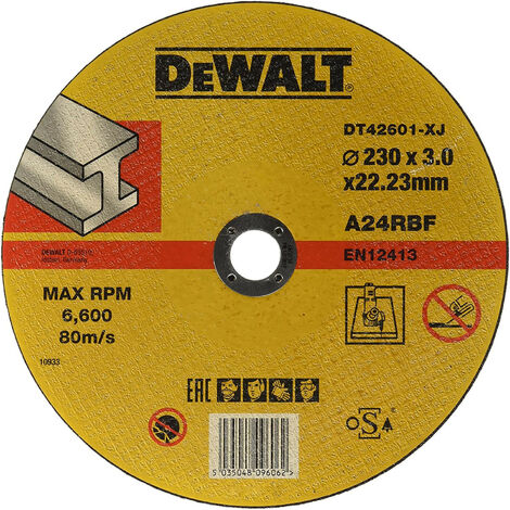 "main image of ""DEWALT DT42601-XJ DISCO CORTE P/METAL 230x3mm"""