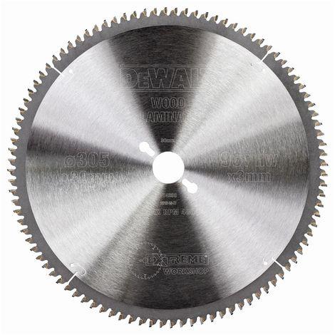 DEWALT DT4290-QZ - Hoja para sierra circular estacionaria 305x30mm 96D TCG -5º