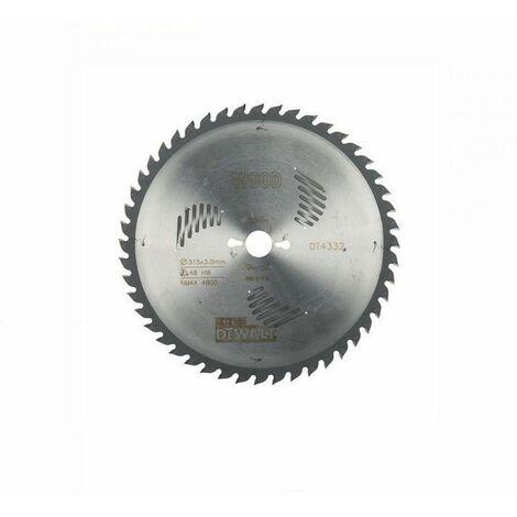 Dewalt DT4332-QZ Lame de scie circulaire stationnaire Extreme Workshop 315x30mm 60 dents 315/30
