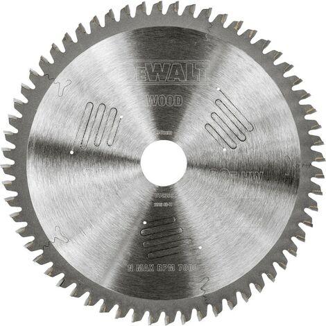 Dewalt DT4350-QZ Lame de scie circulaire stationnaire Extreme Workshop 216x30mm 60 dents 216/30