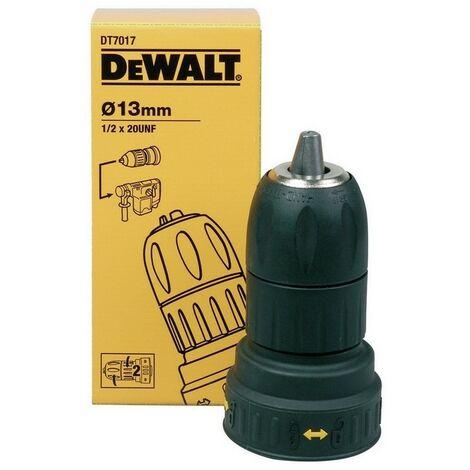 DEWALT DT7017-QZ - Portabrocas de cambio rápido con doble manga de plástico para martillos de 2 y 4kg