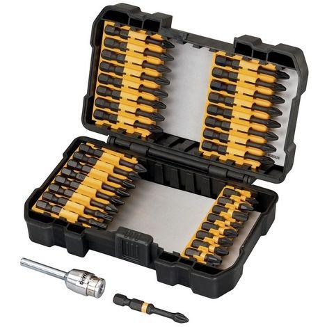 DEWALT DT70545T-QZ - Juego de 34 Piezas para Atornillar IMPACT TORSION con adaptador magnético