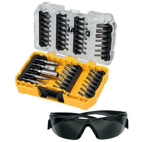 DeWalt DT70704-QZ 47 Piece Torx Screwdriver Bit Set With Safety Glasses