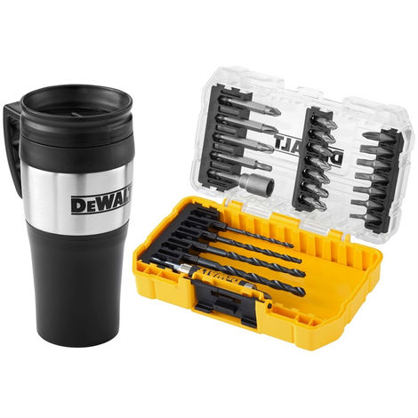 DeWalt DT70707-QZ Drill Driver Bit Set 25 Piece with Mug