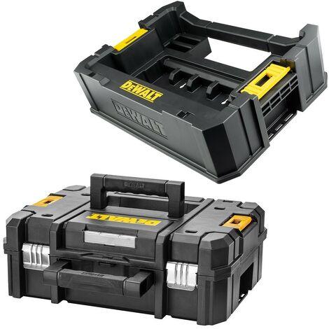 DeWalt DT70716 TSTAK Accessory Caddy For Tough Cases + Tstak II Case Toolbox