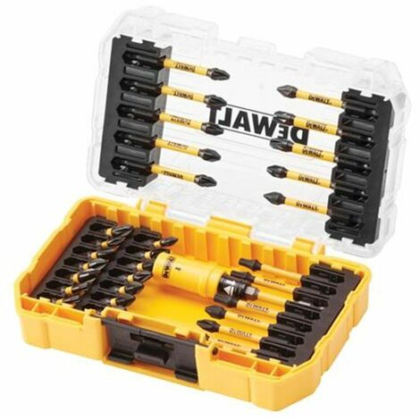 Dewalt DT70737T-QZJuego de brocas de 31 piezas en estuche - PH/PZ/TX