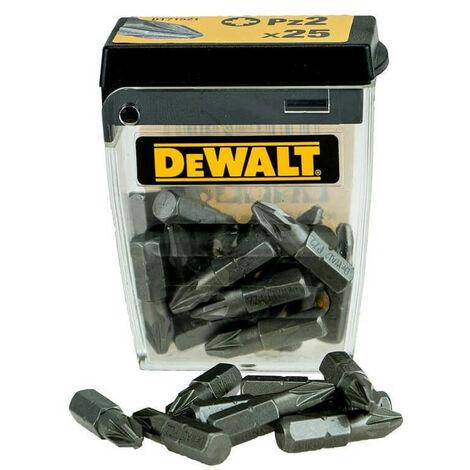 DEWALT DT71521-QZ - 25mm Pz2 jeu d'embouts