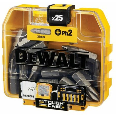 DeWalt DT71522-QZ PH2 25mm SCREWDRIVER BIT (PK-25)