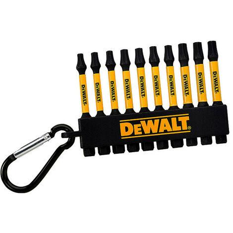 DeWalt DT7276 Pozi Bit Keyring 10 Piece